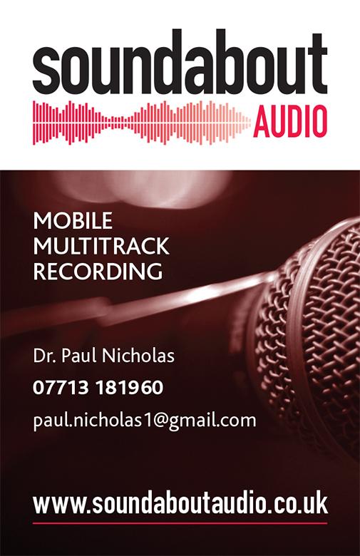 Glen Newman Design Soundabout Business Card