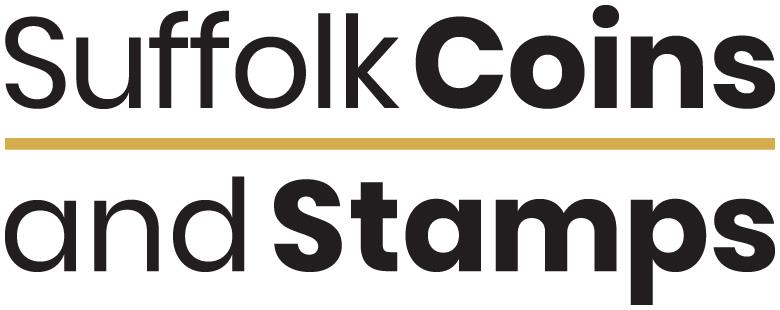 Glen Newman Design Suffolk Coins and Stamps Logo